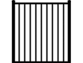 Gate Style #1 - 4 ft W x 4 ft H
