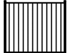 Gate Style #1 - 5 ft W x 4 ft H