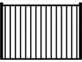 Gate Style #1 - 6 ft W x 4 ft H