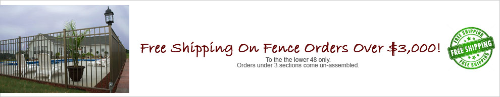 Fence Banner
