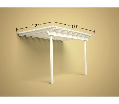 12 ft x 10 ft Economy Aluminum Pergola