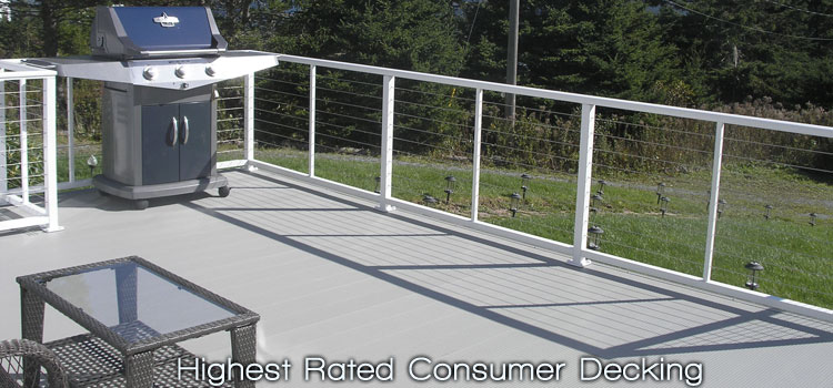 LockDry waterproof aluminum decking