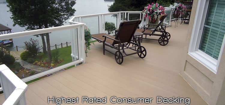 LockDry aluminum decking