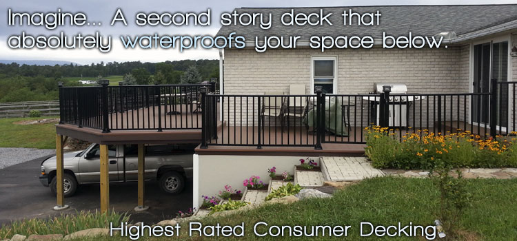 LockDry® Waterproof Aluminum Decking