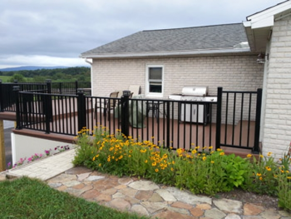 Picket Aluminum Railing